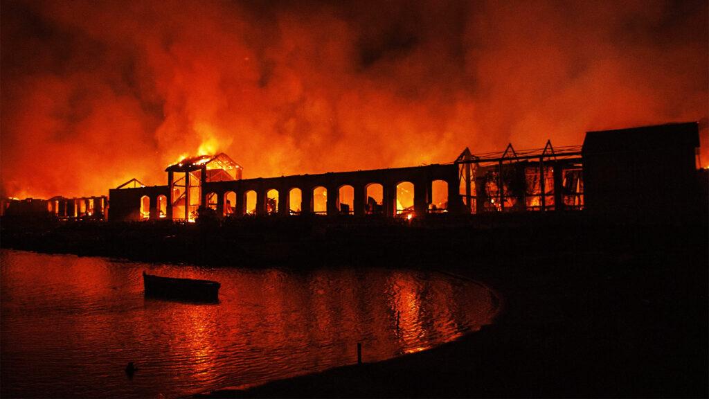 Città della Scienza: il 4 marzo 2013 un incendio distrugge il primo museo scientifico interattivo italiano.